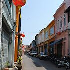 Old Town Phuket Street by Jennifer  Causley