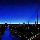 Berlin City lights by Sandra Höfer