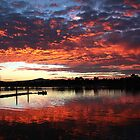 Boat at Sunrise  by Georgie Sharp