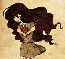 Hermione Granger by Ashura Hazally