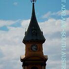 TOWN HALL TOWER-PORT ADELAIDE by JAMES LEVETT