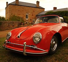 Porsche 356, Pooley Wines, Tasmania by SusanAdey