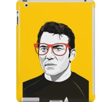 Star Trek James T. Kirk (William Shatner) Pop Art  illustration iPad Case/Skin