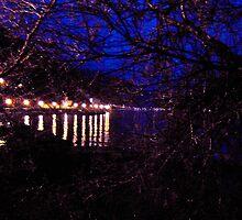 notte sul porto by ventofreddo