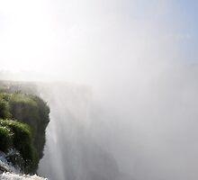 Iguaza Waterfall close-up by LizTilbrook