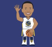 NBAToon of Stephen Curry, player of Golden State Warriors by D4RK0