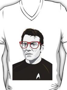 Star Trek James T. Kirk (William Shatner) Pop Art  illustration T-Shirt