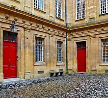 Two Red Doors by Thomas Barker-Detwiler