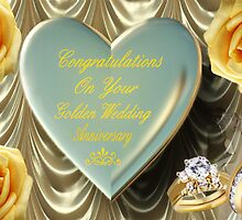 ¸¸.♥➷♥•*¨GOLDEN WEDDING ANNIVERSARY CARD¸¸.♥➷♥•*¨ by ╰⊰✿ℒᵒᶹᵉ Bonita✿⊱╮ Lalonde✿⊱╮