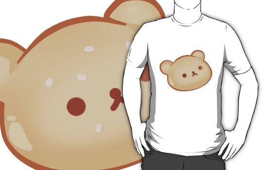 Kawaii Burger Rilakkuma Tee T-Shirt ~! by Taiya