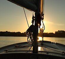 Sunset Sailing by buskyphotos