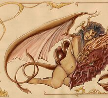 The Dragon's Wife by Aortic-Inkwell