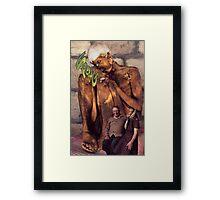 M Blackwell - SPONG Framed Print
