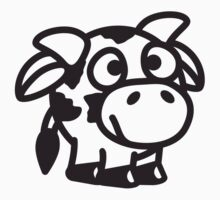 Funny Cute Baby Cow by Style-O-Mat