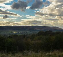 Winter Hill From The Last Drop. by Dave Staton