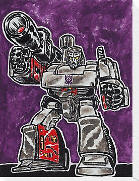 Megatron Transformers Decepticon Leader by Matt Molleur