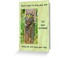 Birthday Greeting Card - Annual Cicada Greeting Card