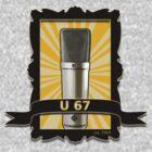 Classic - Neumann U67 Vintage Microphone by AudioEscapades