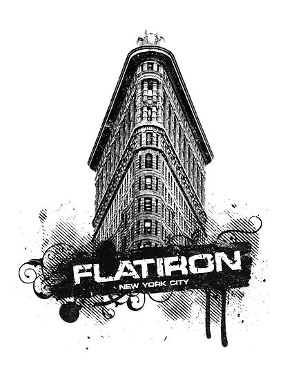 Flatiron Building, NYC by icoNYC