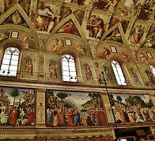 Sistine Chapel #2 by Stephen Burke
