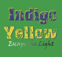 Indigo Yellow - Escape the Light T-Shirt by mps2000