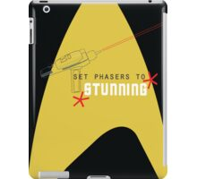 Set phasers to stunning. iPad Case/Skin