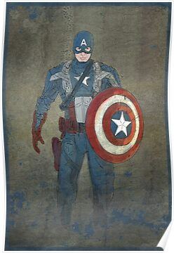 Captain America by jeffrodgers