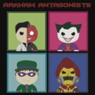 Arkham Atagonists by sicknpsyko
