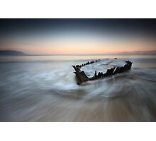 Sunbeam 3 - rossbeight co. kerry Photographic Print