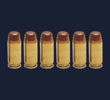 six bullets in a row by dogmycat
