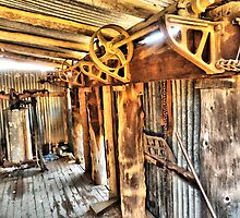 old shearing gears by outbacksnaps
