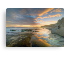 Reflections of Sunset. Metal Print