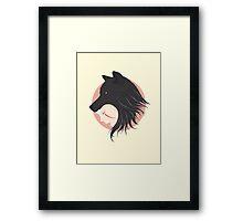Boy Cries Wolf Framed Print