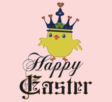 ㋡♥♫Happy Easter Blue Eyed Irish King Chicken Clothing & Stickers♪♥㋡ by Fantabulous
