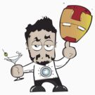 Iron Man Cartoon by ell85design