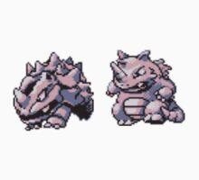 Rhyhorn evolutions by kyokenbyo