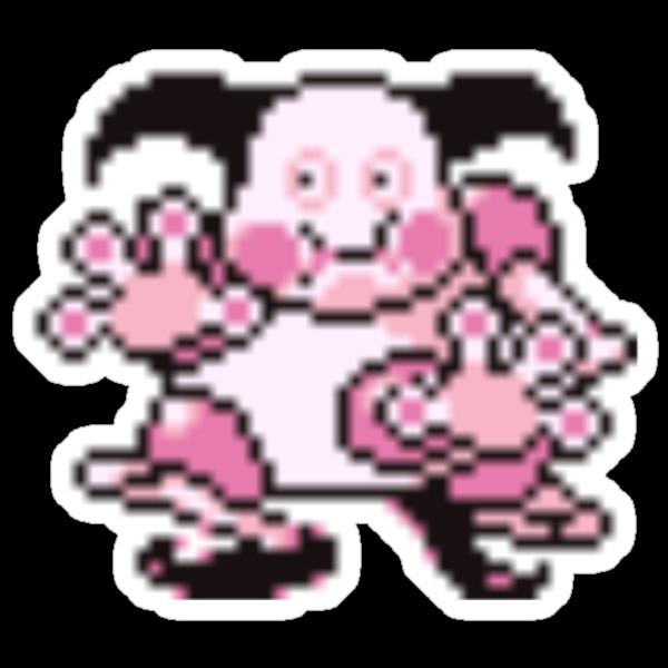 Mr. Mime evolution  by kyokenbyo