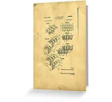 Lego Patent Greeting Card