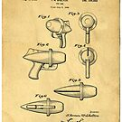 Toy Ray Gun Patent by Edward Fielding