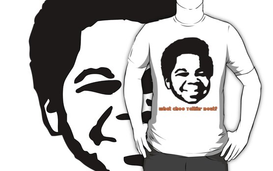 Gary Coleman T-Shirt by retrorebirth