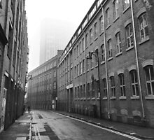 Foggy Leicester Street by Andy Freer
