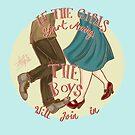 If the girls start moving.. by LiseRichardson