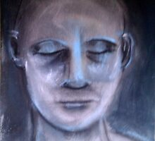 eyes shut by Amy Marie Adams