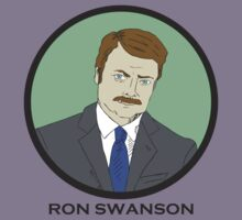 Ron Swanson (Parks and Recreation) by Alex Kittle