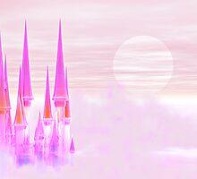 Fairy castle by Norma Cornes