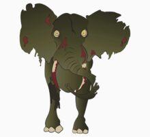 Zombie Elephant by Inspyre
