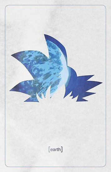 Goku minimalist by stardustshadow
