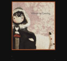 Winter is Coming, says Poppet by Lisa Snellings
