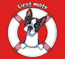 Boston Terrier :: First Mate by offleashart