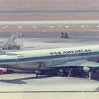 Pan American 707  by Jamie Baldwin